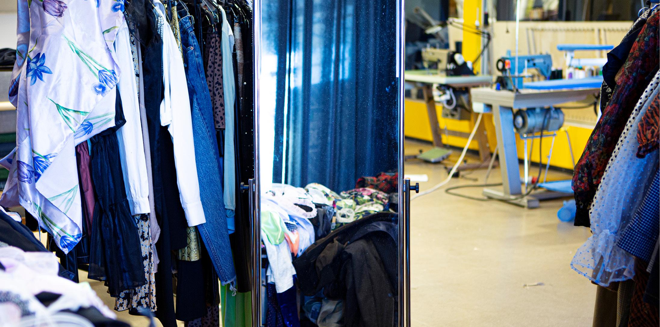Producentansvar - kläder på hög