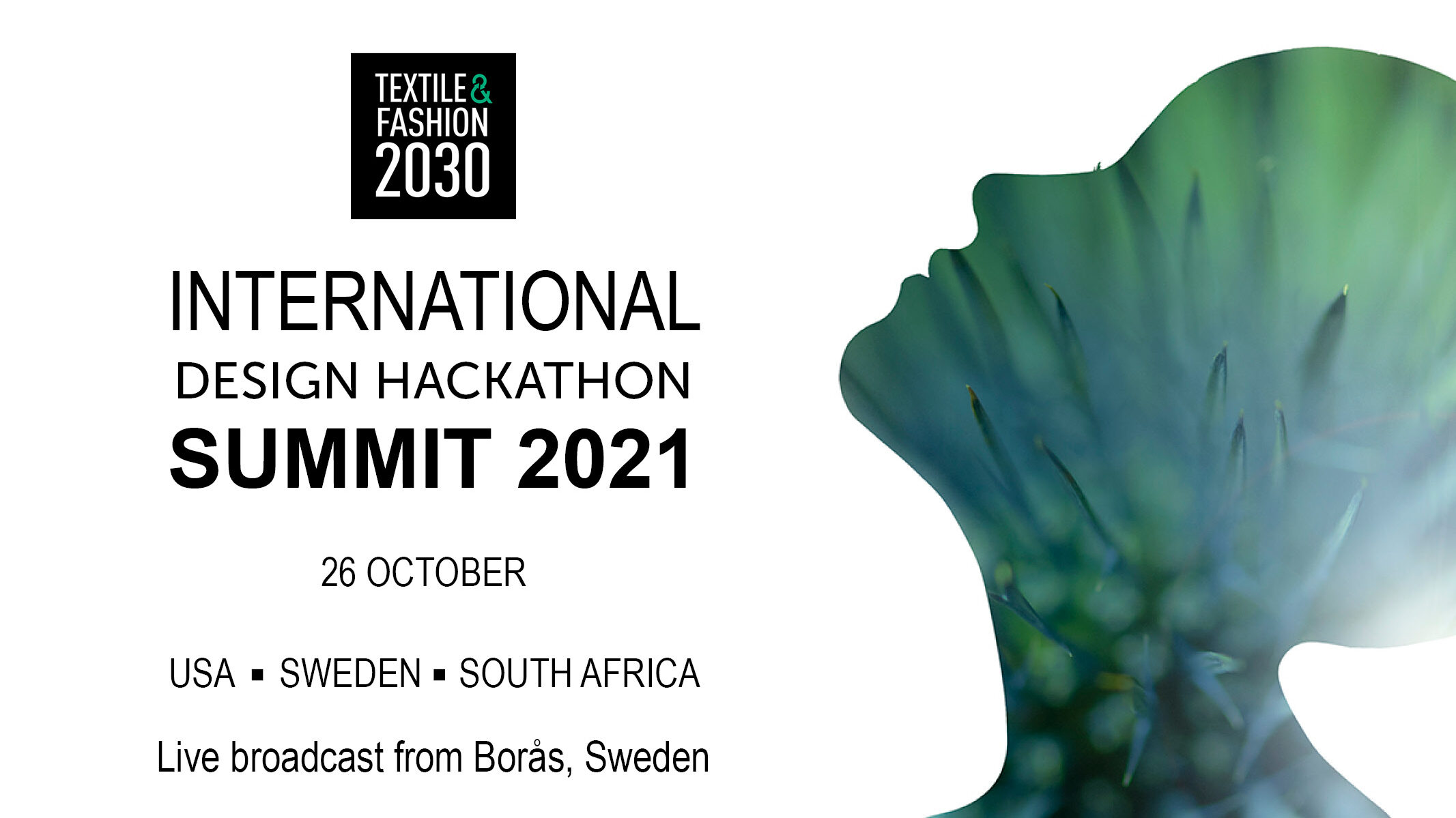 Save the date TF2030 SUMMIT 2021